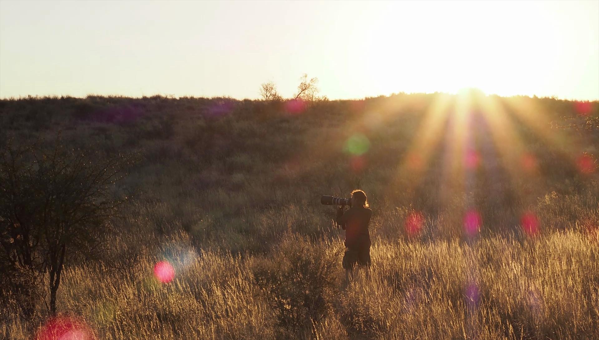 Fotografiando en el desierto