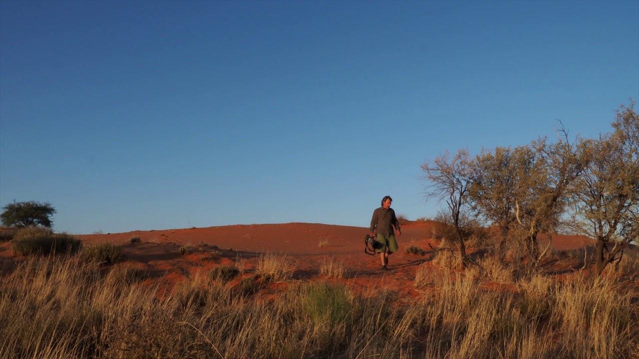 Fotografiando en las dunas